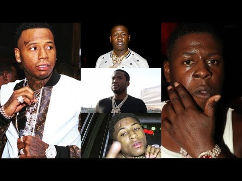 Moneybagg Yo On WHY HE DON'T HANG WITH BLAC YOUNGSTA! Meek NO BAIL HEARING! Youngboy Say F THAT TAPE