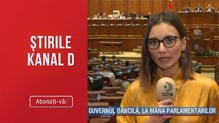Stirile Kanal D (10.10.2019) - GUVERNUL PSD A FOST DEMIS! Editie de pranz