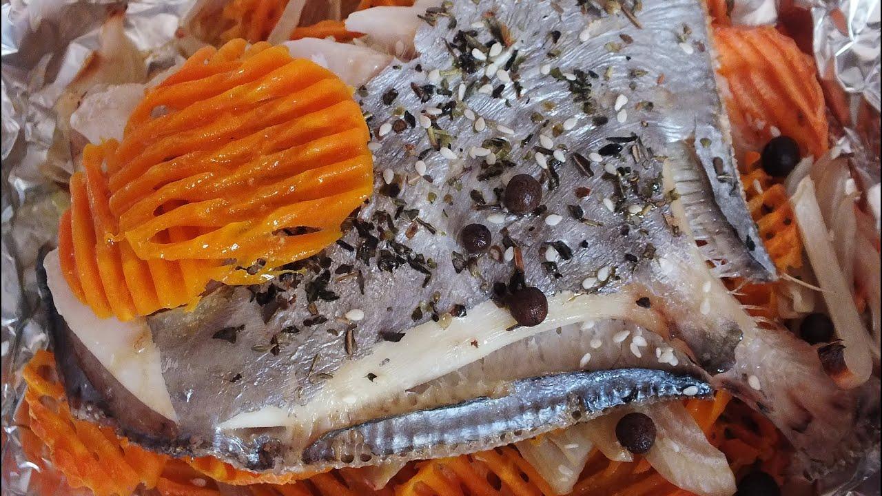 Очень вкусная рыба ДОРИ запеченная в фольге в духовке с овощами how to cook fish