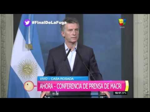 Mauricio Macri: El narcotráfico avanzó por complicidad del Gobierno anterior