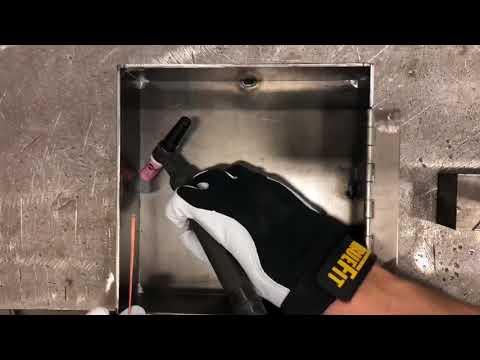DIY gun safe with rfid lock