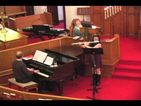 On Eagle's Wings, a flute solo by Elizabeth Coats