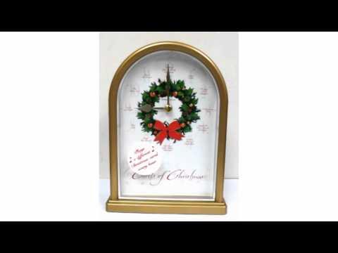 Howard Miller Carols of Christmas Musical Clock
