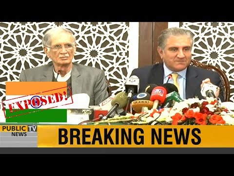 Foreign Minister Shah Mehmood Qureshi COMPLETE Press Conference | Befitting Reply to INDIA