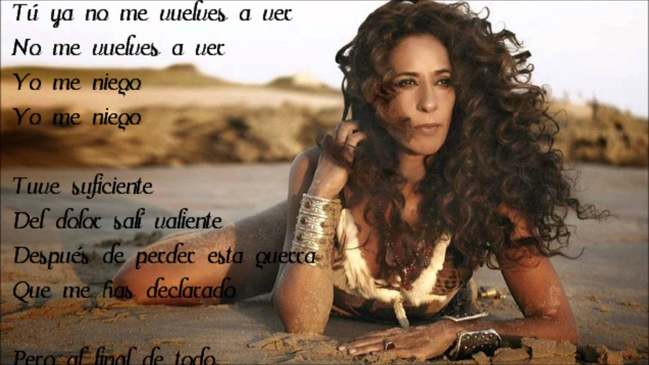 Rosario Flores Yo Me Niego Letra Chords Chordify