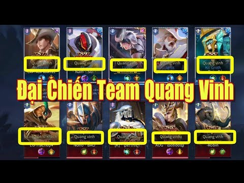 [Gcaothu] Kẻ đứng đầu team quang vinh - Đại chiến không hồi kết của tất cả Quang Vinh