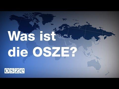Was ist die OSZE?
