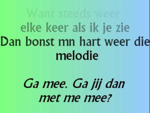 John West - Voel je dan niet met lyrics