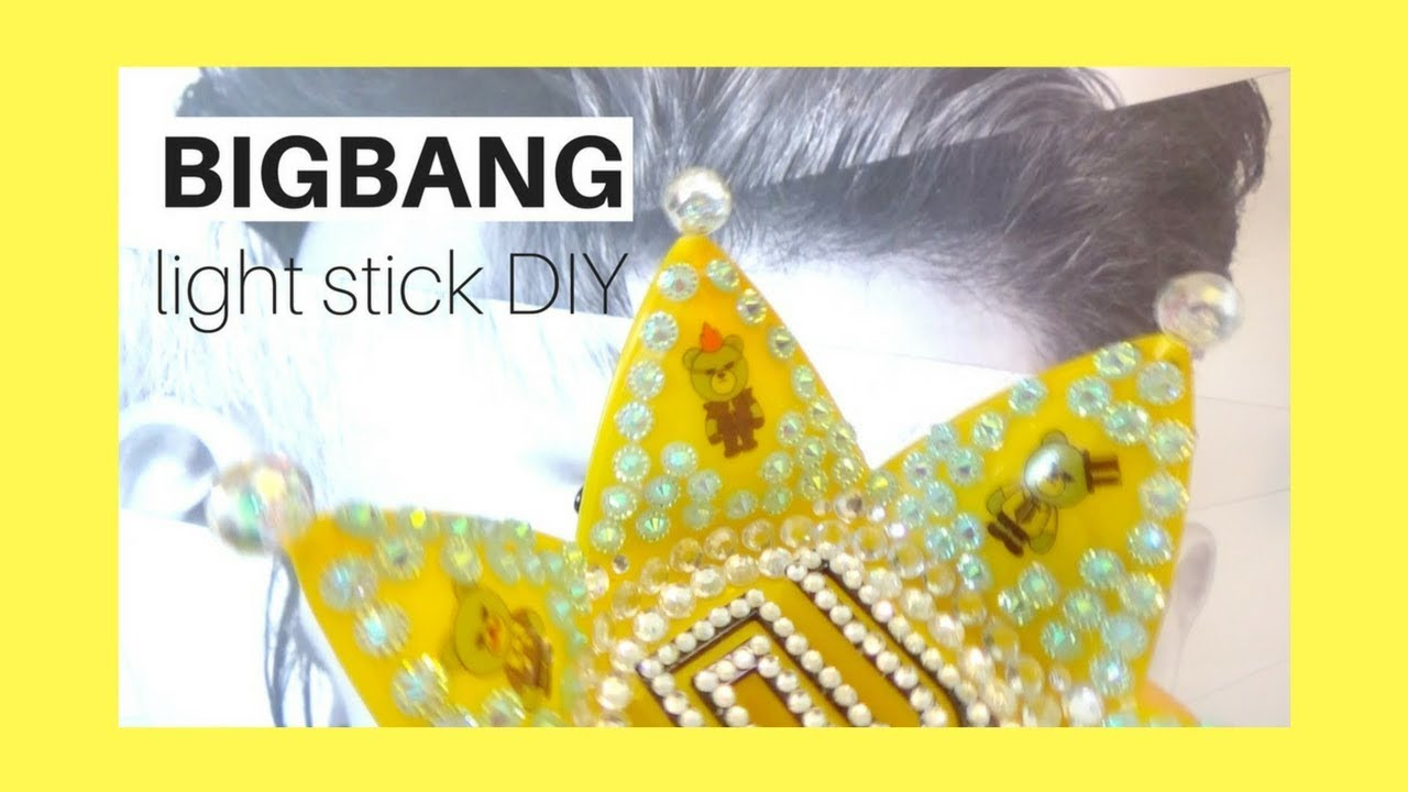 [BIGBANG] Unboxing + DIY || Official Light Stick Ver. 4