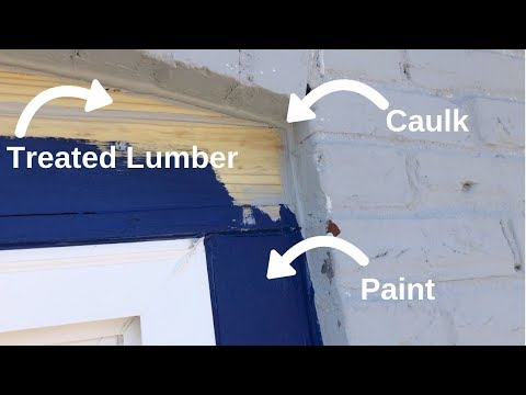 Installing Exterior Window Trim