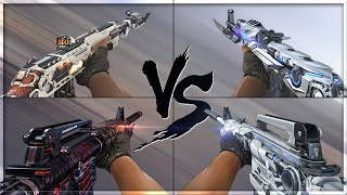 CrossFire 2.0 : AN-94 KNIFE SPACESHIP vs (VVIP) Weapons [Comparison]