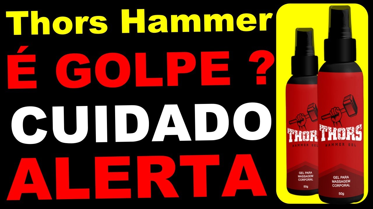 site oficial do thor hammer gel