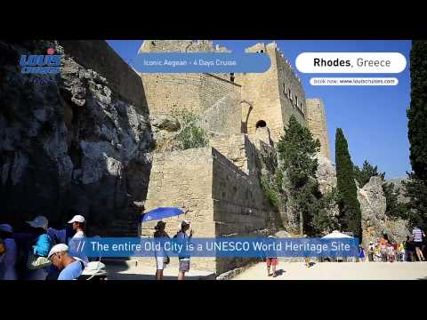 4 Days Cruise Iconic Aegean - Mykonos, Kusadasi, Patmos, Rhodes, Heraklion Crete, Santorini