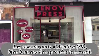 Les commerçants d'Avallon (89). (5)