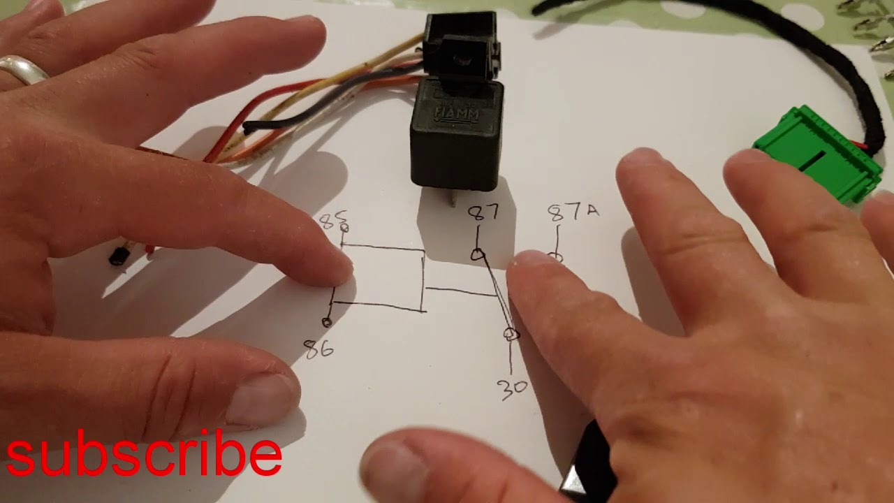 24v 12v Relay Explained 4 Or 5 Pin How To Fit And How To