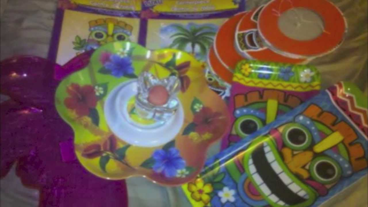 fun hawaiian luau party supplies and decorations from kids