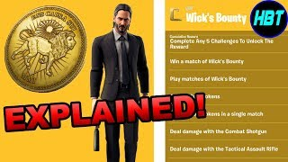 Fortnite John Wick Event EXPLAINED! (Challenges, Free Rewards, Skins And More!) Fortnite John Wick