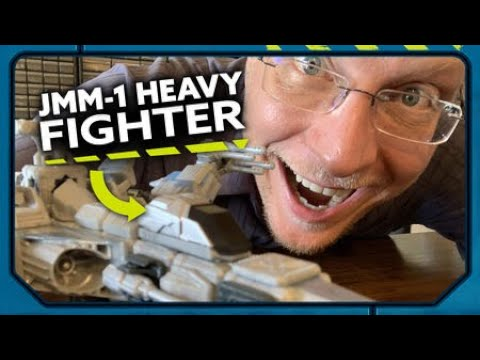 Kit Mash Ups: Forge JMM-1 Heavy Fighter