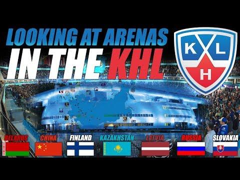 Looking at KHL Arenas