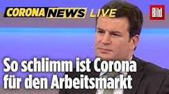 🔴 Corona und der Arbeitsmarkt | Arbeitsminister Heil erklärt, was passiert | 31.03.2020