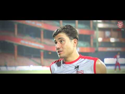 KXIP SHER   Marcus Stoinis   IPL 9