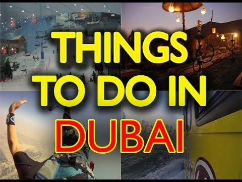 Things to Do in Dubai     Dubai Tour Guide 2017
