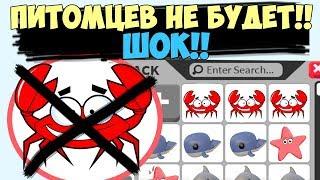 Питомцев НЕ БУДЕТ!! Последние новости от робмикс из игры адопт ми. Пиратское обновление. adopt me