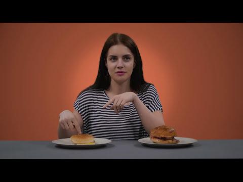 10 ₺ Hamburger vs 60 ₺ Hamburger