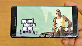 Samsung Galaxy Note 7 Gaming Review GTA San Andreas! (4K)