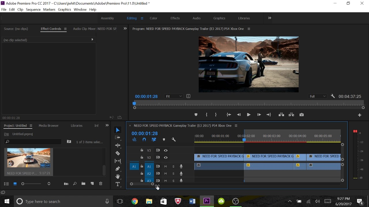 HOW TO RENDER IN ADOBE PREMIERE PRO CC 2017