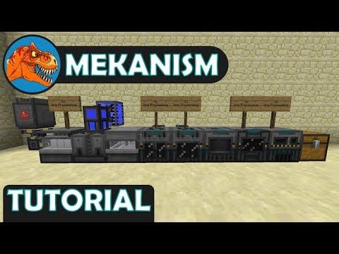 Mekanism: 1 – 5 Times Ore Processing Tutorial