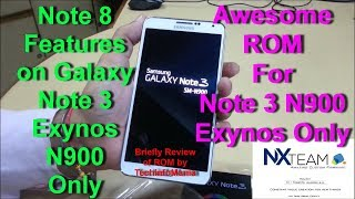 Note 8 Features on Exynos Note 3 SM-N900 Only