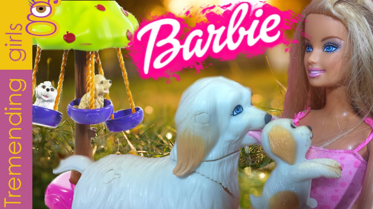 Muneca Barbie Y Sus Perritos Juguetes Barbie En Espanol Barbie