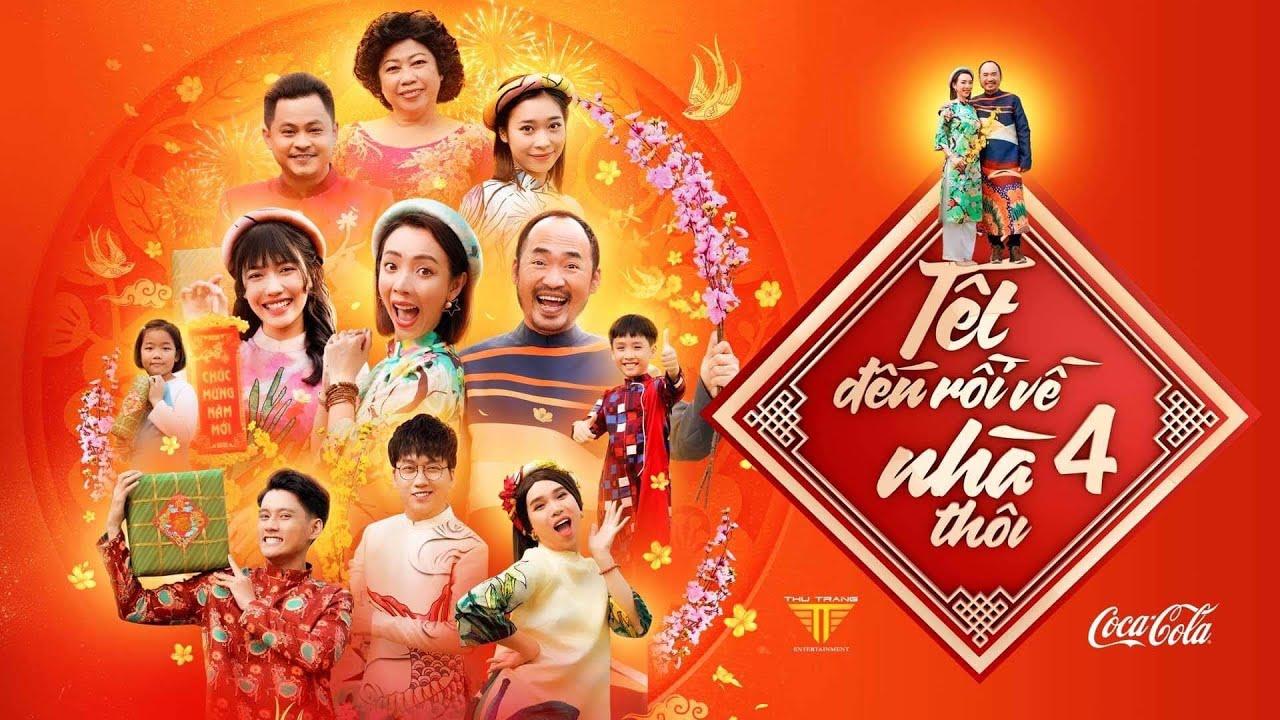 HÀI TẾT 2021 - TẾT ĐẾN RỒI VỀ NHÀ THÔI 4 - OFFICIAL | Phi Phụng, Thu Trang, Tiến Luật, Diệu Nhi,...