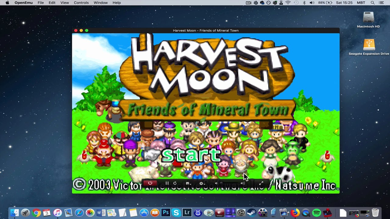 How To Install Harvest Moon: Friends of Mineral Town on MAC? [GBA Emulator  Tutorial]