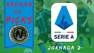 Serie A Apuestas deportivas Liga de Italia Jornada 2 PREDICCIONES PRONÓSTICO Picks Futbol