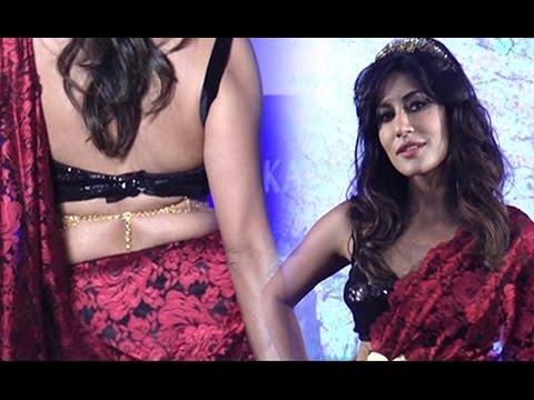 Chitrangada Singh Hot Ramp walk In Backless Blouse And Red Saree | Fashion 2016