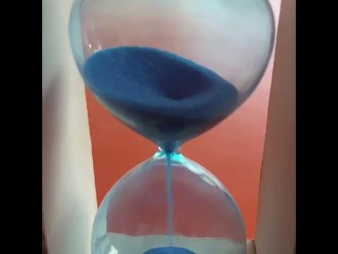 slow motion video full hd 4k sand timer