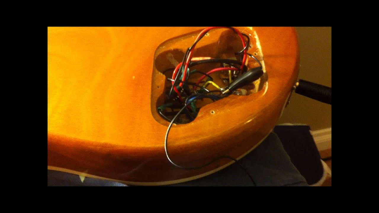 guitar hum emi noise and buzz from non sheilded wiring youtube. Black Bedroom Furniture Sets. Home Design Ideas