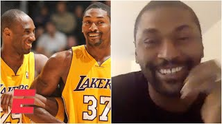 Metta Sandiford-Artest on how he bonded with Kobe Bryant through how they compete | ESPN
