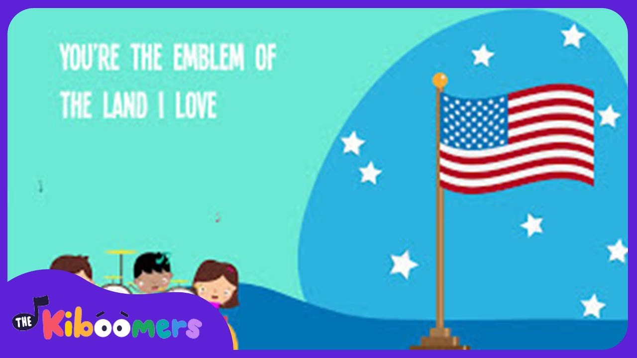 You Re A Grand Old Flag Song For Kids American Patriotic Music For