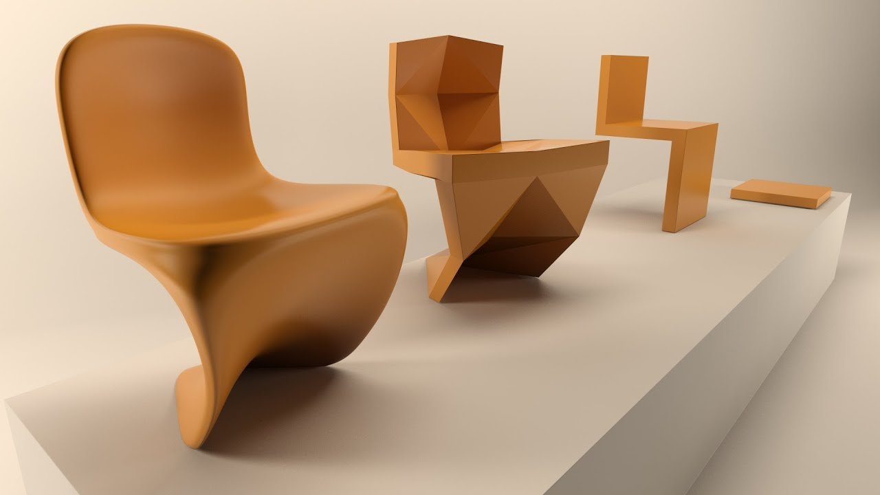 Modell A Chair With OpenSubDiv Modifier In A Parametric Way (3ds Max 2016)    YouTube