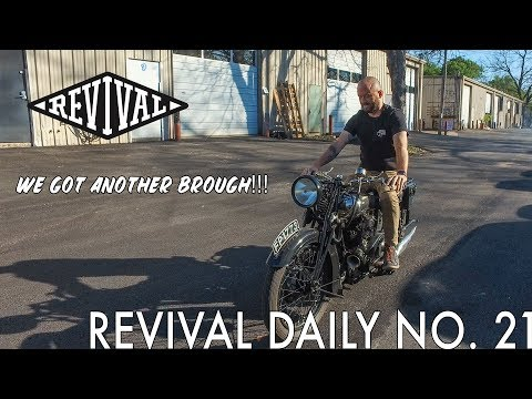 We got ANOTHER Brough Superior!!! // Revival Daily No. 21