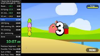 Duck Life 3: Evolution Any% 31:10 (Former World Record)