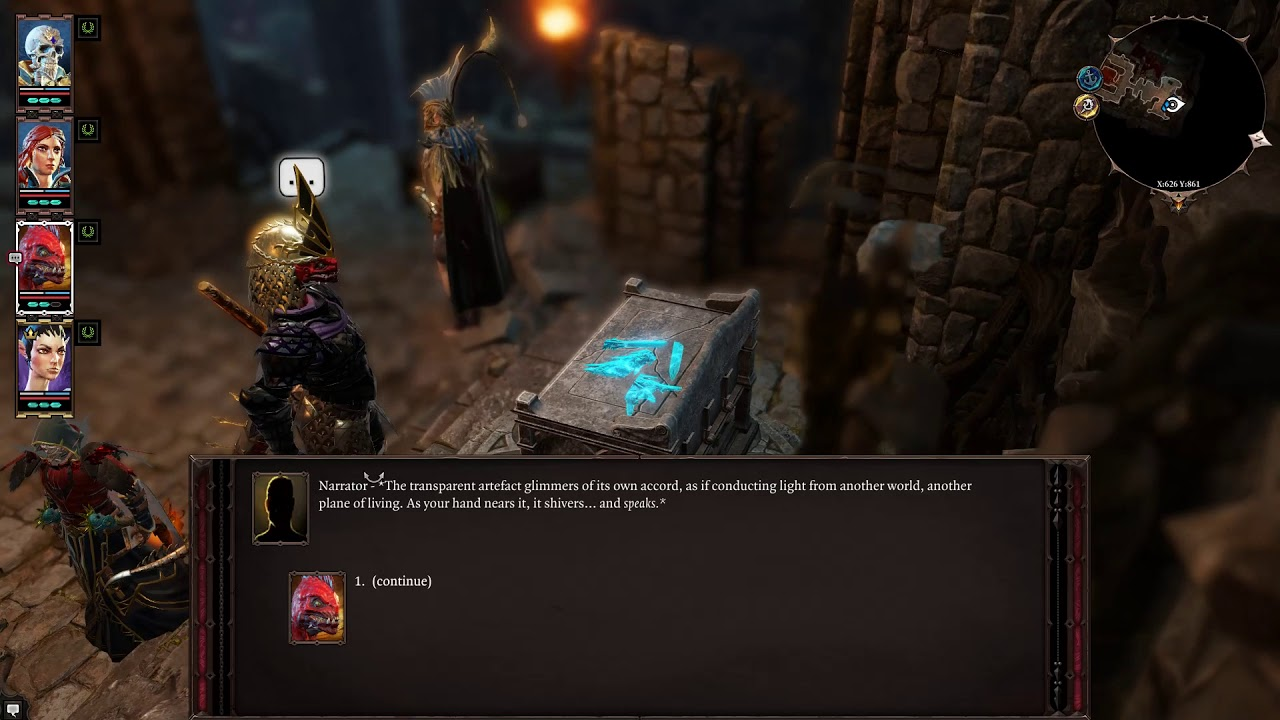 Bound by Pain The Silent One - Tactician - Divinity Original Sin 2 LP #75