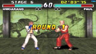 TEKKEN ADVANCE Gameplay - Arcade: Hwoarang [GBA, Game Boy Advance]