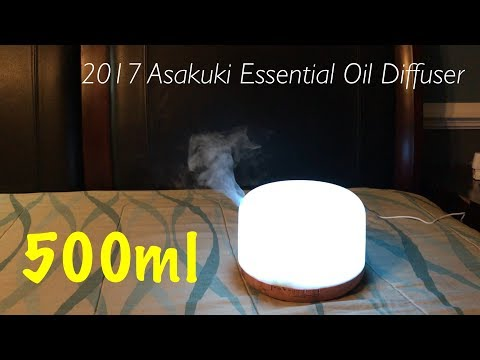 2017-asakuki-500ml-essential-oil-diffuser|-unboxing