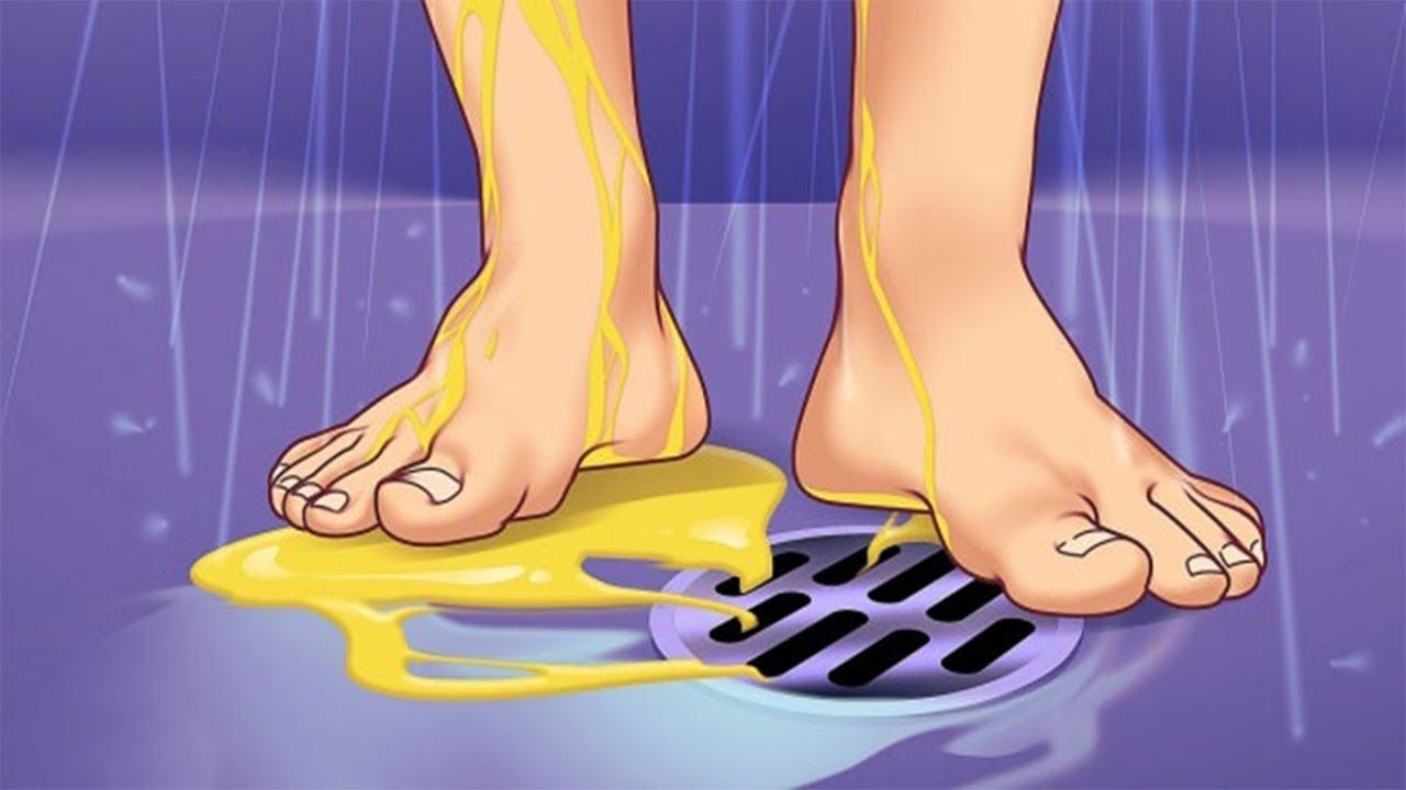 Duş alırken yapılan hatalar nelerdir