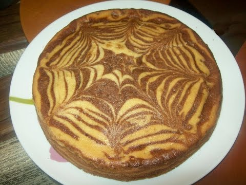 Пирог Зебра вкусный рецепт с пошаговым фото