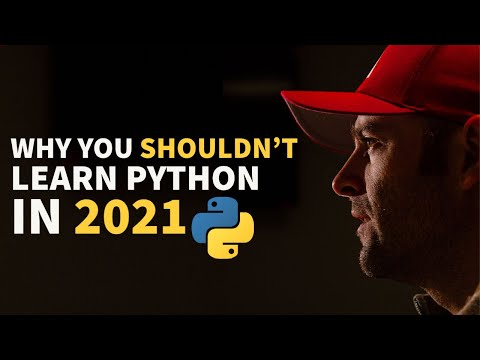 Why You Shouldn't Learn Python In 2021